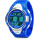 Boys Digital Watches, Kids Sports Watch with Alarm, Outdoor 50M Waterproof Childrens Electronic Wrist Watches with LED Light Stopwatch for Teenagers Boys - Blue by FORUNER