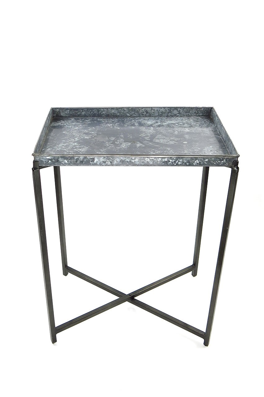 Vagabond Vintage Iron and Metal Tray Table