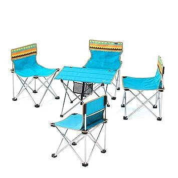 BAOFI Sillas Plegables para Exterior Taburetes de Camping Silla ...