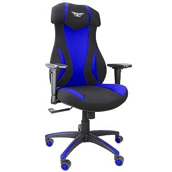 Sillas de malla para videojuegos, silla de estilo de carreras ...