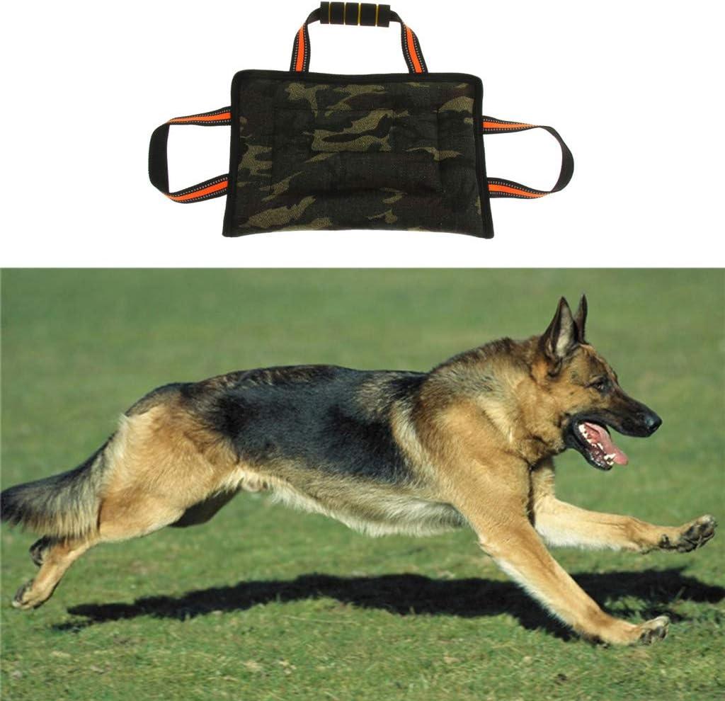 B Blesiya Schwarz Bei/ßwurst Beissrolle Camouflage Bei/ßkissen Beissbrett f/ür Hundetraining