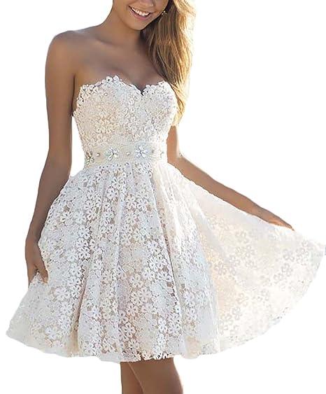 buy online aa1b7 bdd0b Vestiti Donna Eleganti da Cerimonia Corti Vestito Moda ...
