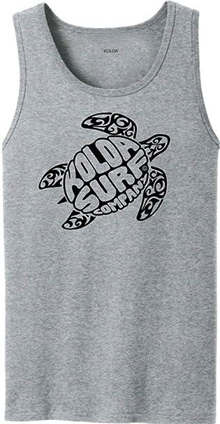 c2945ace76942 Amazon.com  Koloa Surf Turtle Logo Tank Tops in 40 Colors. Adult ...