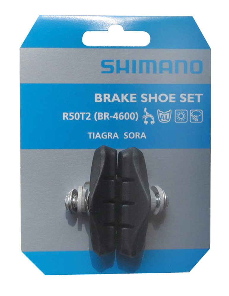 Shimano r50t2Freno Guantes, Negro, 60mm ADIL0|#adidas 8JY 9807