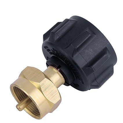 Roblue Adaptador de Botella de Gas para Quemador de Estufa hornillo de Camping de latón (