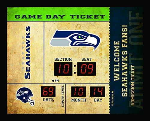 Team Sports America Seattle Seahawks Bluetooth Scoreboard Wall ()