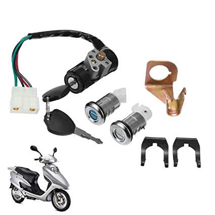 Best Quality Motorcycle Ignition Switch Key Set 5 Wires ... on wiring relays, wiring a lamp, wiring outlets, wiring lights,