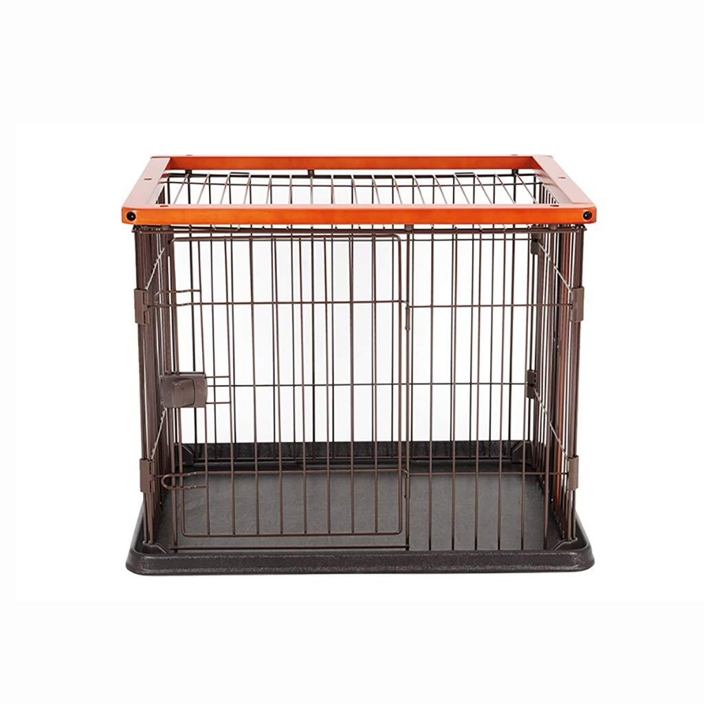 885755cm Pet fence Pet cage Pet indoor folding dog cage Pet folding fence dog fence Pet Indoor fence Household indoor Pet Isolation door Detachable (Size   88  57  55cm)
