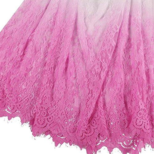 Nilover - Vestido - para mujer Dip Dyeing Pink 2