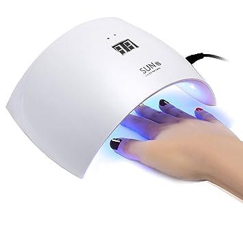 Oenbopo 24W LED Nail Lamp Nail Dryer UV Curing Lamp Art Tool For UV LED Gel