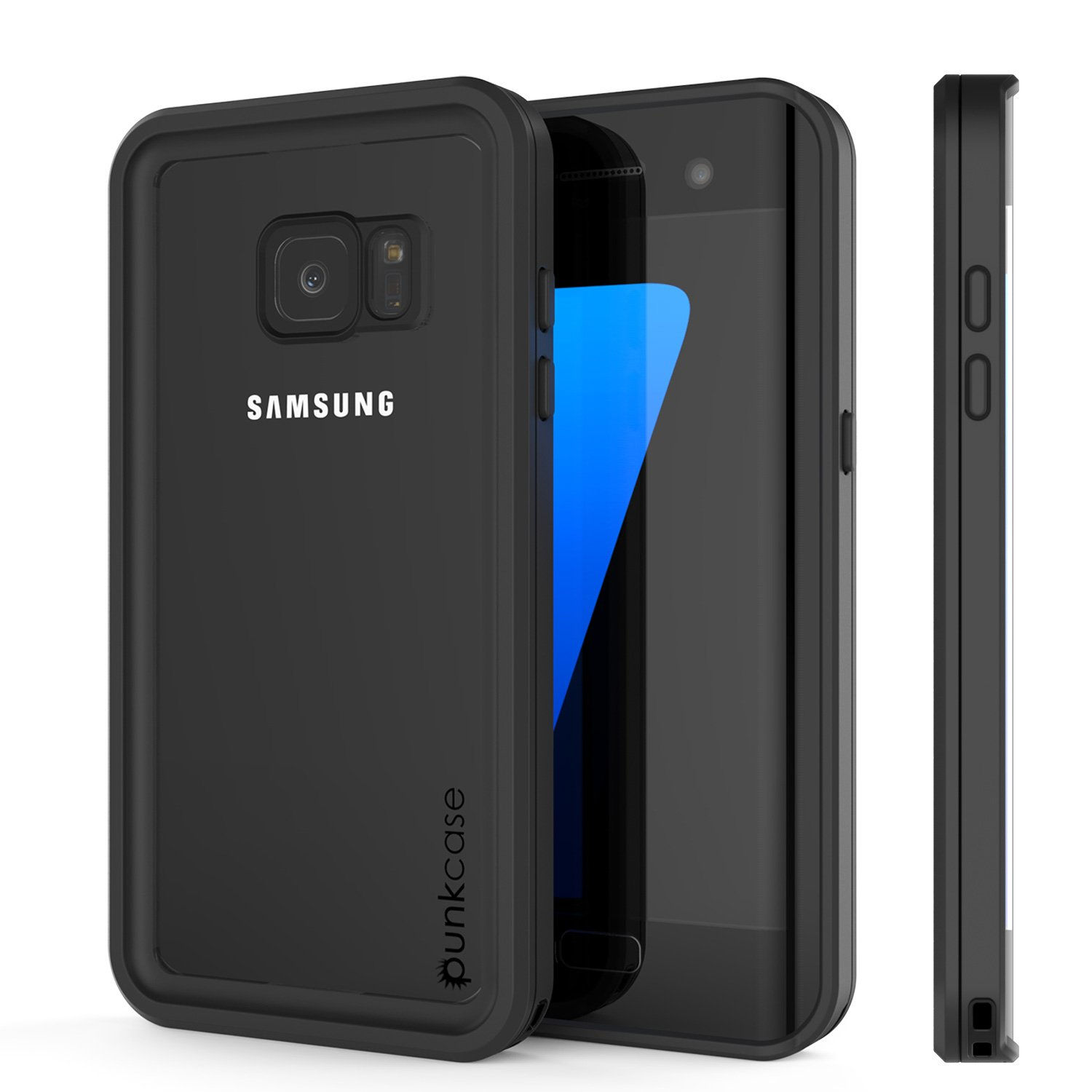 the latest 1f080 88e5f Galaxy S7 Edge Waterproof Case, Punkcase [Extreme Series] [Slim Fit] [IP68  Certified] [Shockproof] [Snowproof] [Dirproof] Armor Cover W/Built in ...