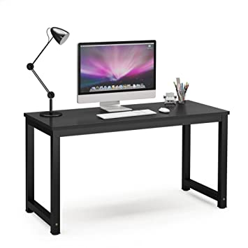 Amazoncom Tribesigns Computer Desk 55 Large Office Desk