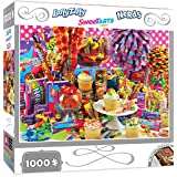 MasterPieces Candy Brands Wonka Candy 1000 Piece Jigsaw Puzzle