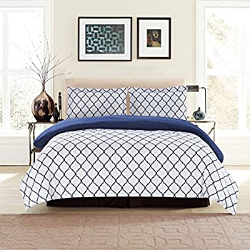 Lux Decor Collection Duvet Cover Set, 1800 Count Soft Egyptian Quality  Hotel Luxury Queen Premium