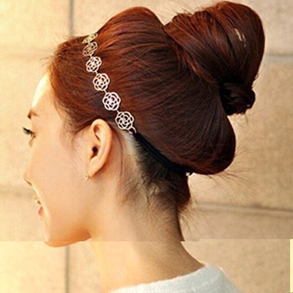 Haorw Haarb/änder Kopfband Haarspange Stirnb/änder Kranz-Girlande M/ädchen,fur Seaside Shooting Requisiten,3 St/ück