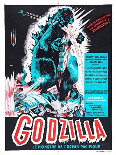 Godzilla Gojira 1954 Japanese Movie Poster by Movie