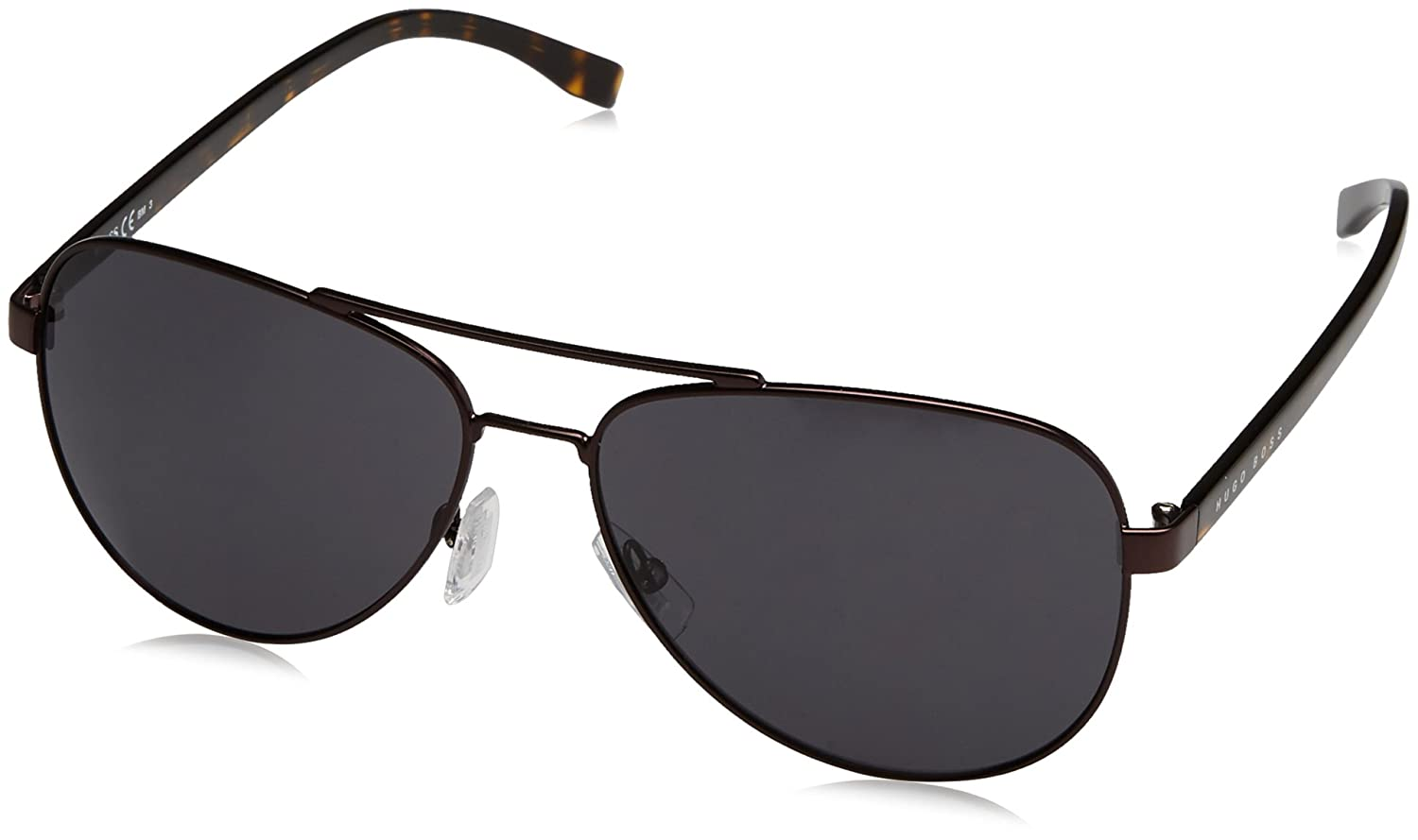 BOSS Hugo 0761/S IR 25B Gafas de Sol, Marrón (Mtbrown Havana/Grey Blue), 60 Unisex-Adulto