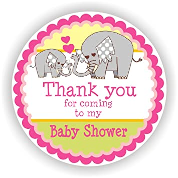 Amazon Com Philly Art Crafts Baby Girl Shower Stickers It S