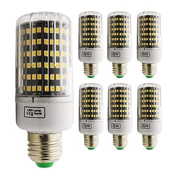 E27 LED maíz bombilla, 15W Luz cálida 3000K LED bombillas 1100 lm, Edison tornillo