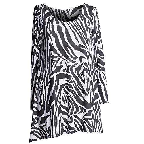 Zebra Print Long Dresses - 6