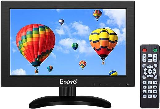 Eyoyo - Monitor de TV pequeño HDMI de 12 pulgadas (1366 x 768 ...