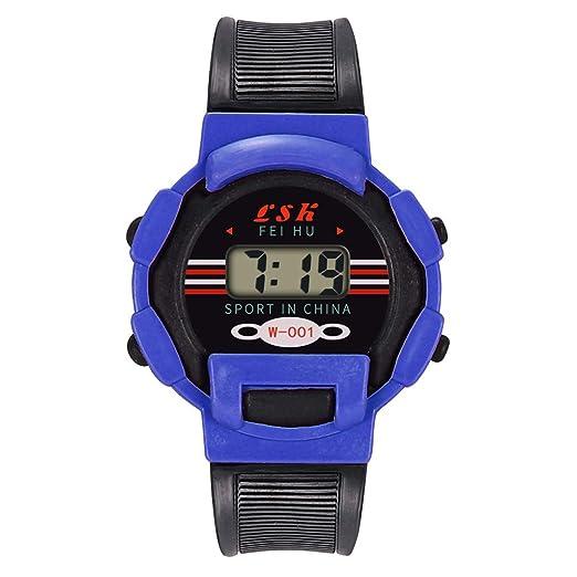 Kanpola Decoración Infantil Relojes,Reloj de Pulsera electrónico electrónico para niños, niñas, Deportes, analógico, Digital, LED Nuevo: Amazon.es: Relojes