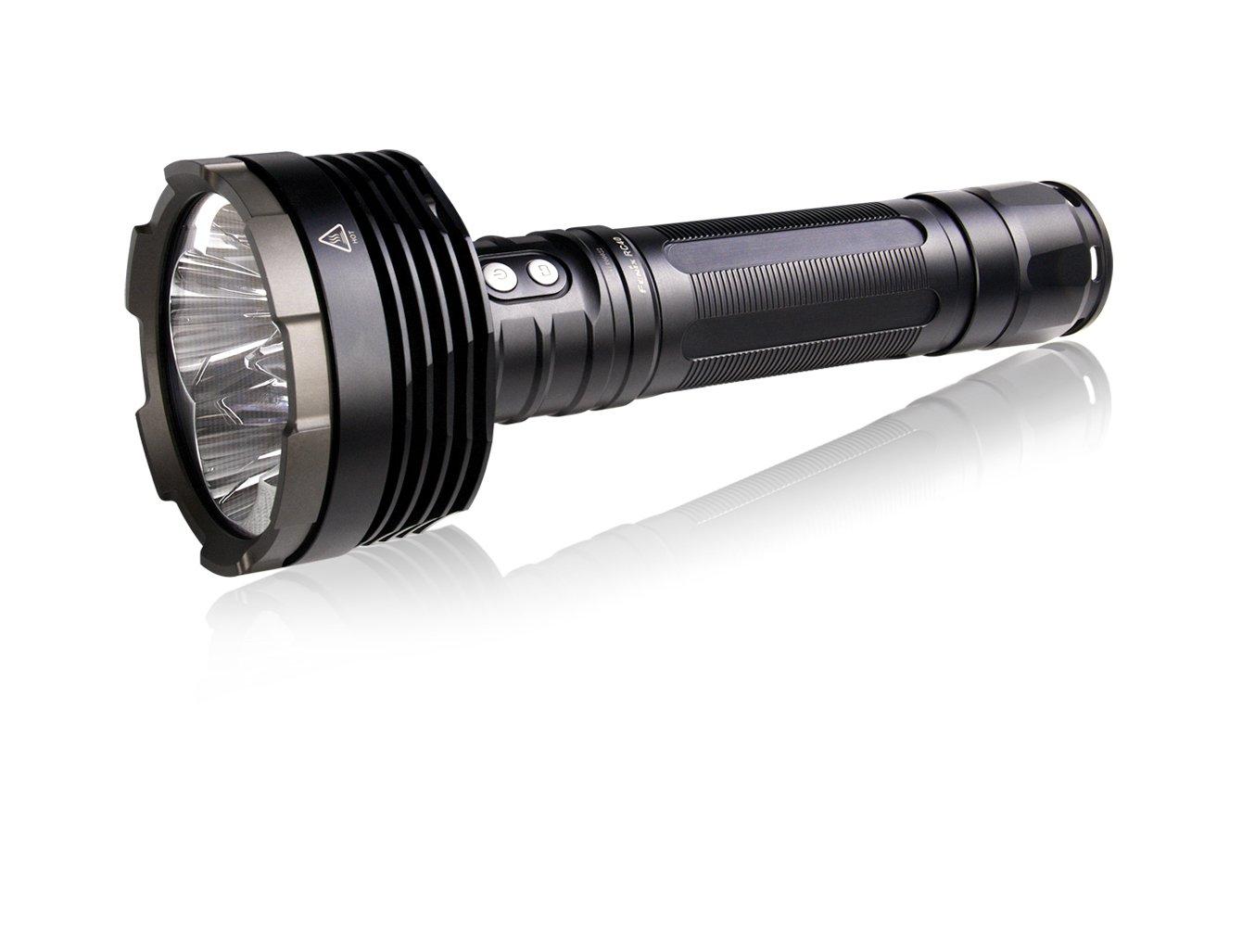 Fenix RC40 LED Taschenlampe (Taschenlampe, Schwarz, Aluminium, IPX8, 50000 H)
