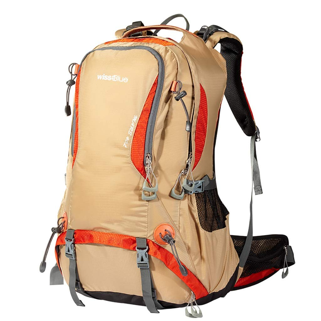 ハイキングバッグ アウトドア登山バッグカジュアルスポーツバックパック男性と女性の大容量防水旅行バックパック40 L / 50 L ハイキングバックパック (色 : C, サイズ さいず : 50L-39*30*61CM) 50L-39*30*61CM C B07NKFZV3D
