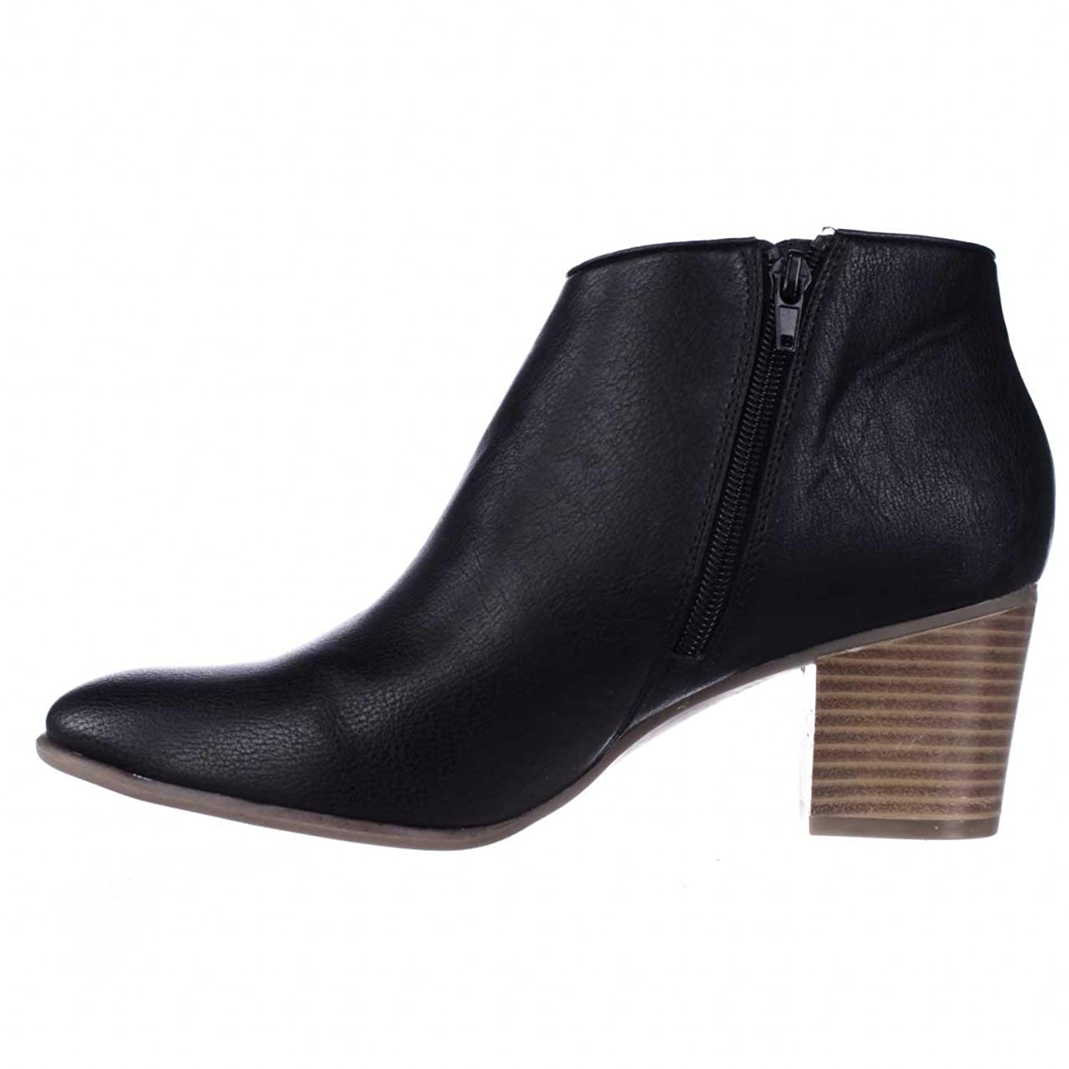 A35 Leoh Casual Ankle Booties - Black