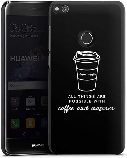 DeinDesign Huawei P10 Plus Carcasa Case Funda Móvil Mascara Café ...