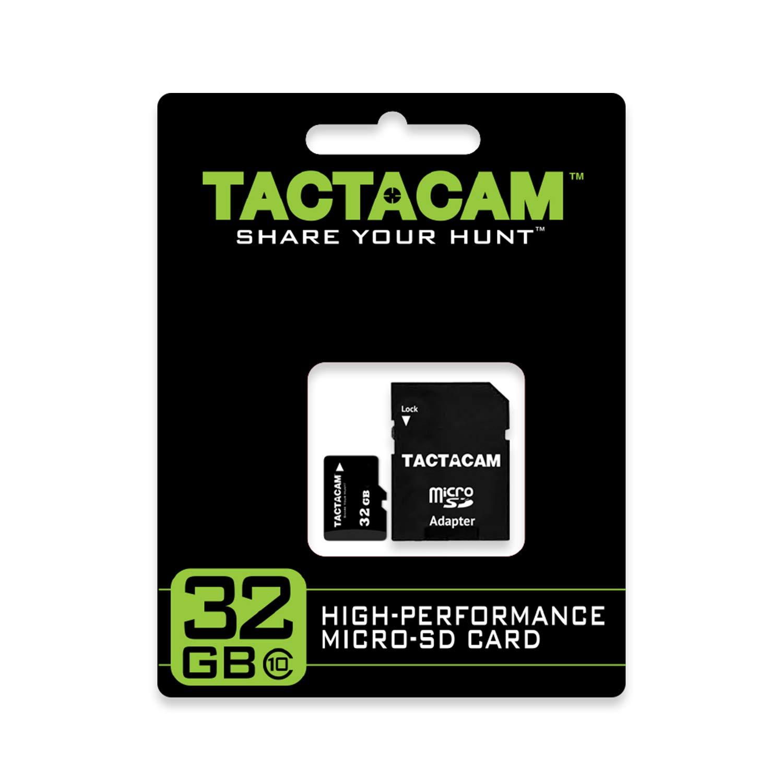 Tactacam High Performance SD Card, 32GB Ultra-Class 10 Micro SD Card with Adaptor by TACTACAM