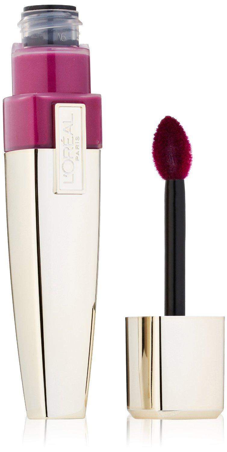 2 L'Oreal Paris Colour Caresse Wet Shine Lip Stain, 186 Berry Persistent L' Oreal Paris
