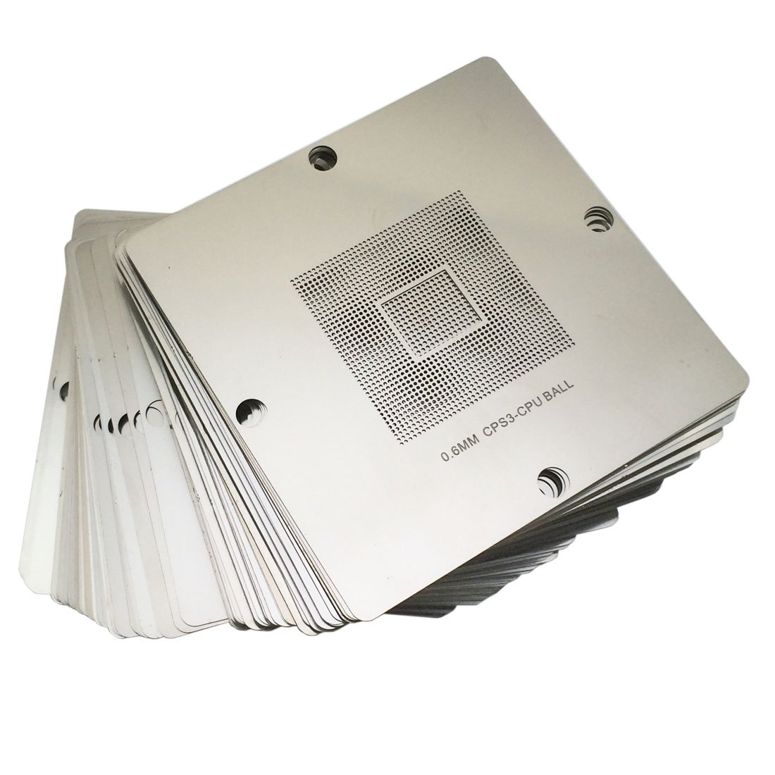Whataval(TM) 241pcs BGA Reballing Stencils Kit for Laptop PS3 WII XBOX 360 90x90mm