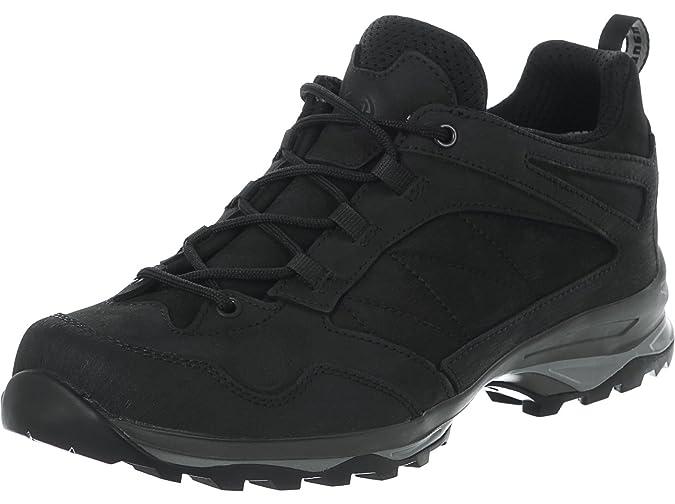 Burang, Chaussures de Randonnée Basses Homme, Noir (Schwarz), 46 EUHanwag