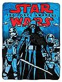 Lucas Star Wars Episode 7: The Force Awakens, Final Arrival Micro Raschel Throw Blanket, 46'' x 60''