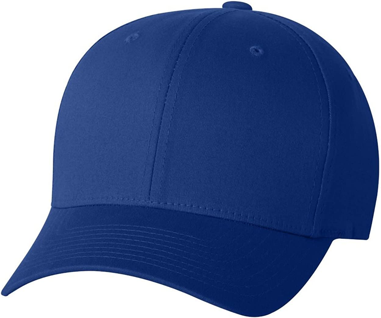 S//M 5001 ROYAL Yupoong Flexfit 6-Panel Structured Mid-Profile Cap