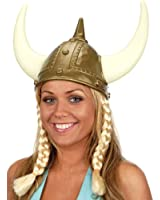 Jacobson Hat Company Women's Viking Hat with Braids