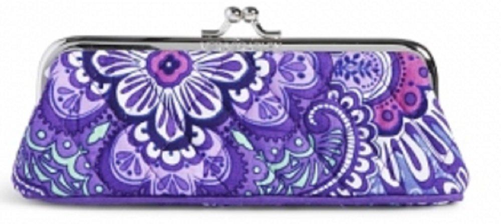 Vera Bradley Kisslock Case in Lilac Tapestry