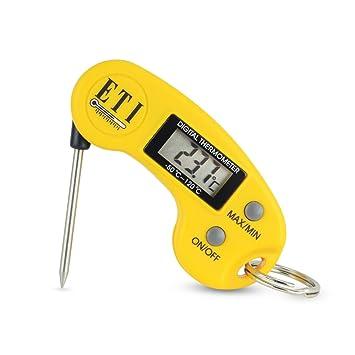 Llavero - Mini termómetro Digital con sonda plegable – Max ...