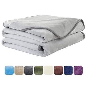 ottaa kiinni 2018 lenkkarit mistä ostaa EASELAND Soft Travel Size Summer Blanket All Season Warm Fuzzy Microplush  Lightweight Thermal Fleece Blankets for Couch Bed Sofa,Throw,50x61 ...