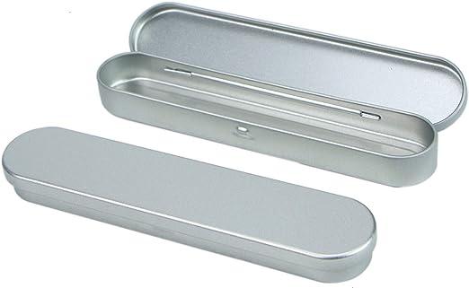 Transparent Plastic Stationery Pen Pencil Box Case,Small Parts Organizer Box