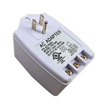 Amazon.com: 16.5V 40W Output Plug in AC Adapter Power Supply ...