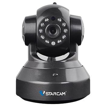 Vstarcam Cámara de vigilancia Cámara seguridad hogar 720P inalámbrica IP con Visión nocturna Detección de movimiento