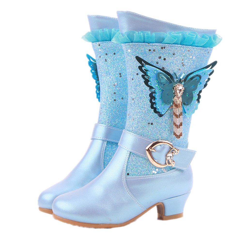 pit4tk hommes / / / femmes d'enfants du genou filles des bottes hautes bottes habillées de longues bottes fête princesse est facile à nettoyer la surface traitement wr9748 e xcellen ts exquis eda8b4