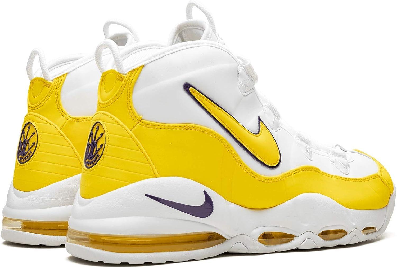 Air MAX Uptempo 95 White/Amarillo - Court Purple CK0892-102 - Número - 43: Amazon.es: Zapatos y complementos