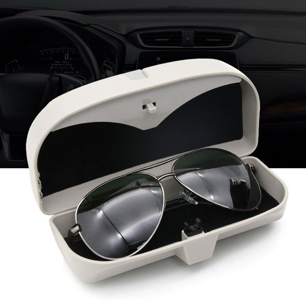 PKW//KFZ pink Relangce Brillenetui f/ür Auto Sonnenblende,Brillenetui K/äfig mit Kartenkarten Clip und Magnetischer Funktion,Sonnenbrille Halter//Brillenfach//Sonnenbrillenhalterung f/ür Auto//LKW