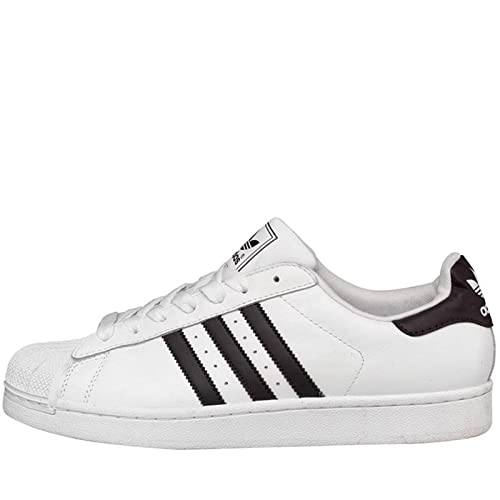 Mens adidas Originals Superstar 2 Trainers White Black Guys Gents (11 UK 11  EUR 047f3a211