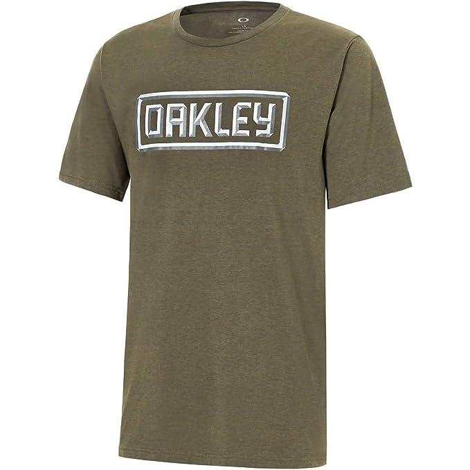 Oakley Cepillo Oscuro Oscuro Heather Xlarge 50-3d Tee 3gGZxjaKQL