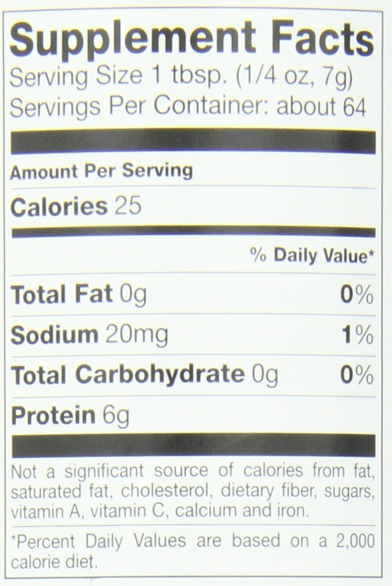 Great Lakes Unflavored Gelatin, Kosher, 16-Ounce Can (Pack of 4)