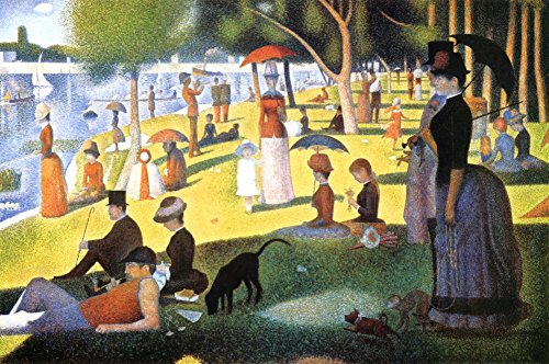 A Sunday on La Grande Jatte 1884, 1884-86 Poster by Georges Seurat 36 x 24in
